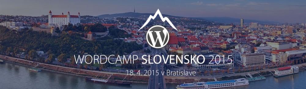 WordCamp Slovensko 2015